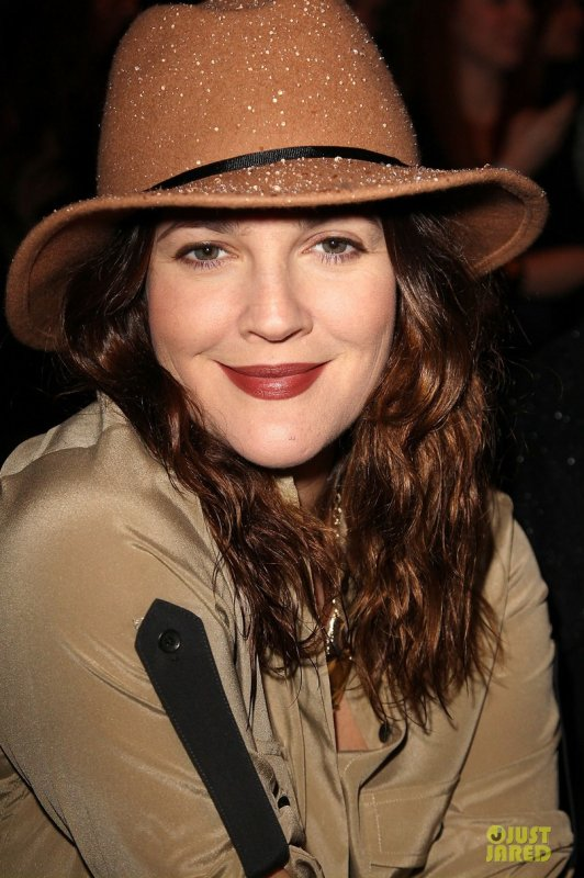 Drew Barrymore au défilé Rag&Bone. New York