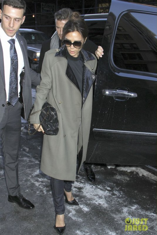 Victoria Beckham de sortie. New York
