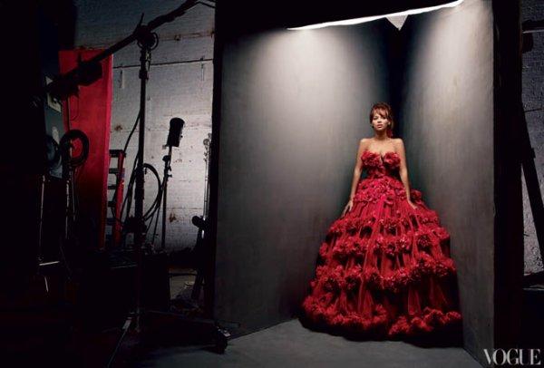 Beyonce pose pour Vogue.