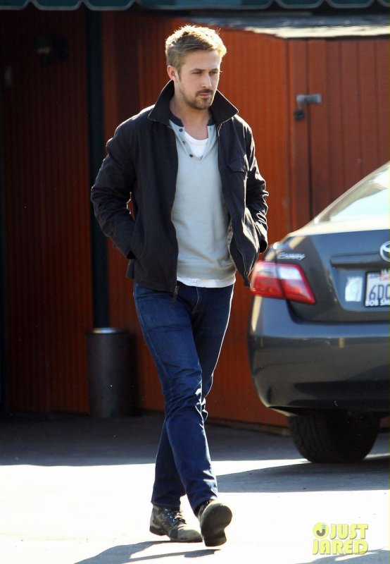 Ryan Gosling de sortie. Studio City, Californie
