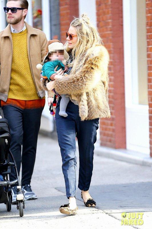 Sienna Miller de sortie. New York