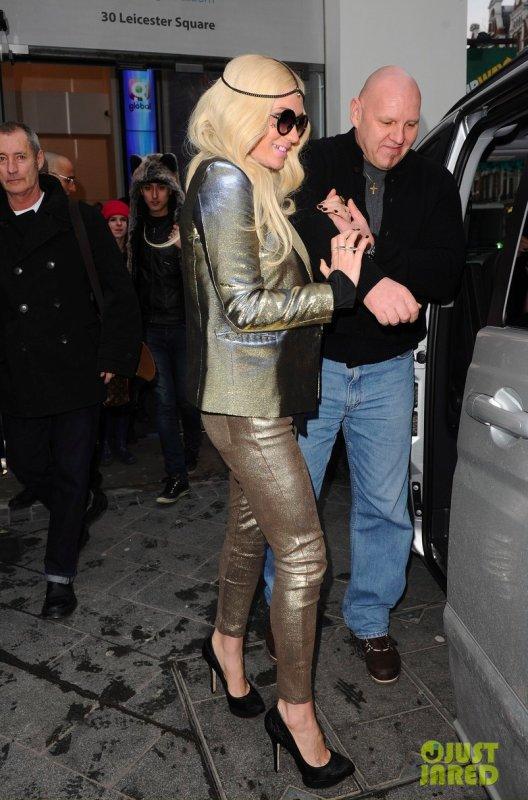 Kesha de sortie. Londres