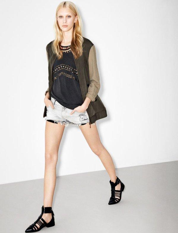 Zara TRF  lookbook février