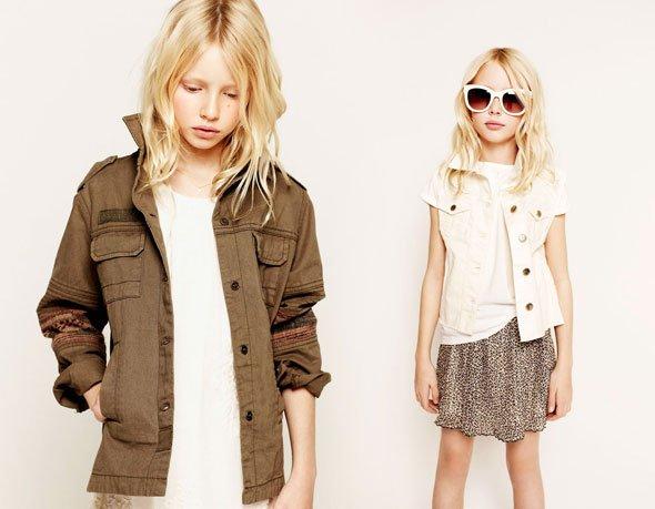 Zara Kids  lookbook février