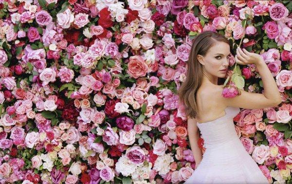 Natalie Portman pour Dior. La vie en rose