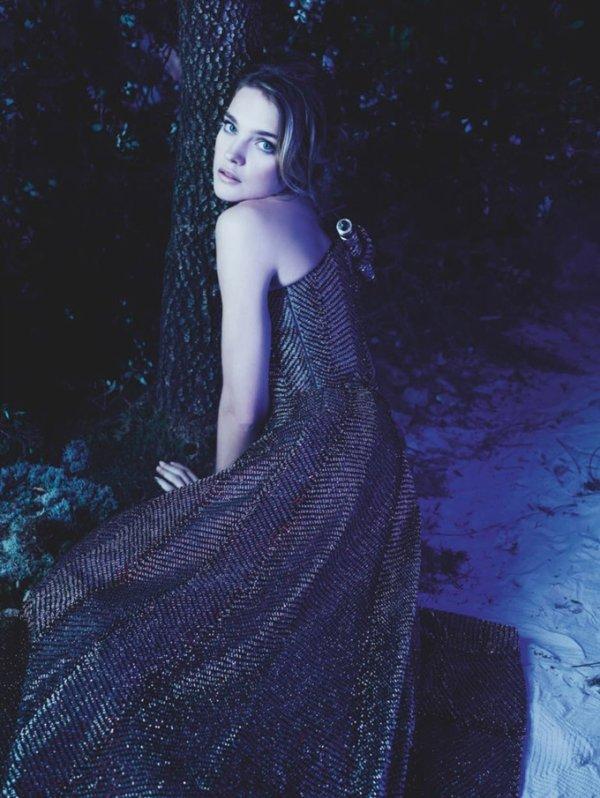 Natalia Vodianova  photoshoot