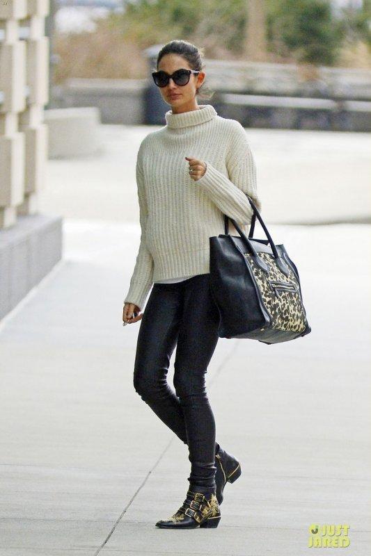 Lily Aldridge de sortie. New York