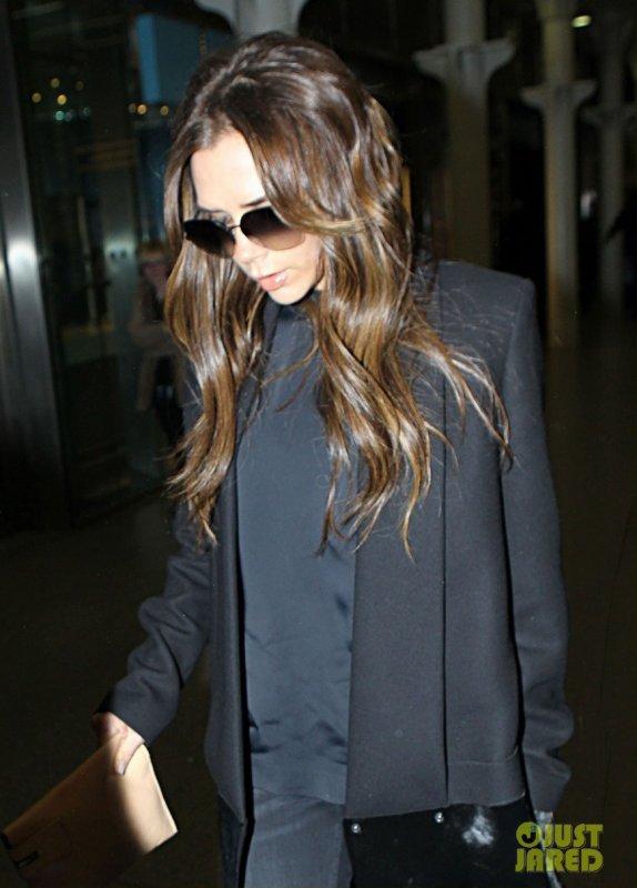 Victoria Beckham de sortie. Londres