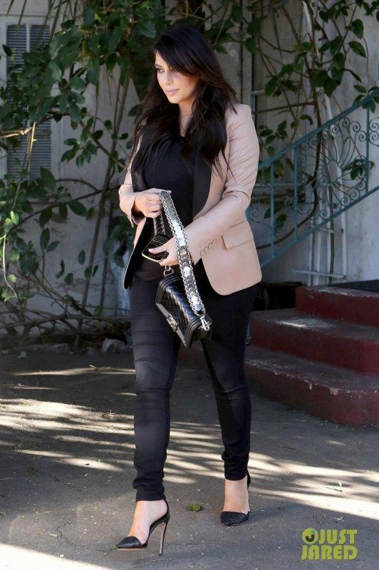 Kim Kardashian de sortie. Los Angeles