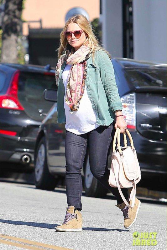 Kristen Bell de sortie. Beverly Hills