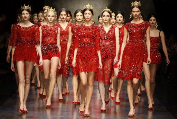 PRÊT-À-PORTER  Saison Automne-Hiver 2013 / 2014 Dolce & Gabbana