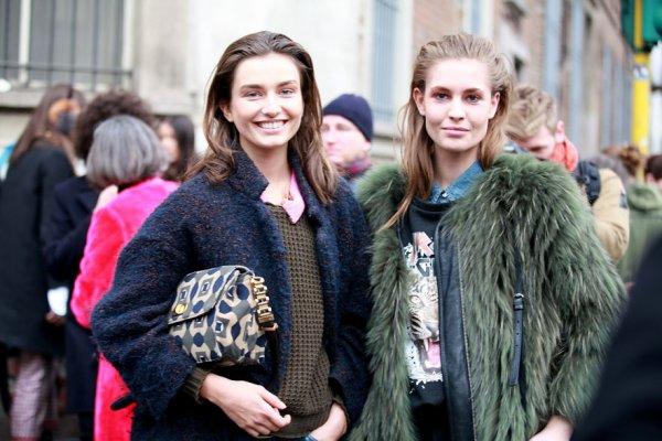 Fashion Week  Street Looks Milan