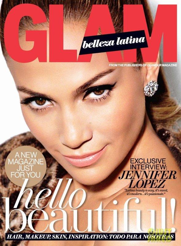 Jennifer Lopez pose pour Glam Belleza Latina.