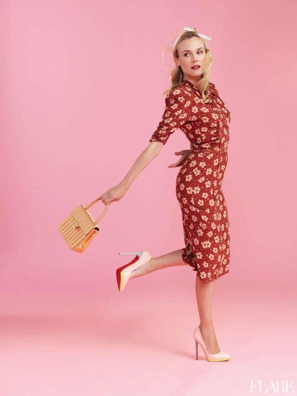 Diane Kruger pose pour Flare.