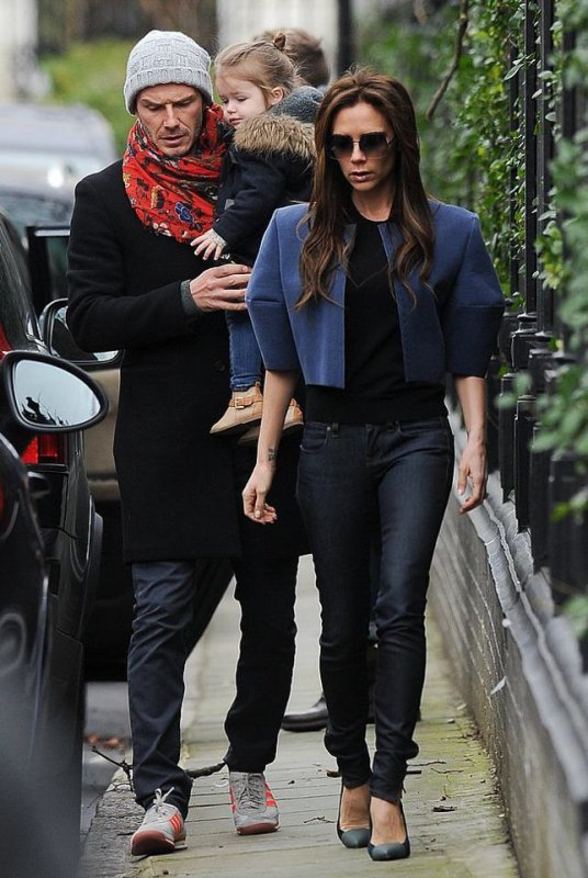 Les Beckham de sortie.