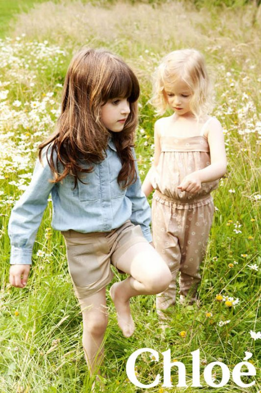 Chloé enfants printemps / été 2013