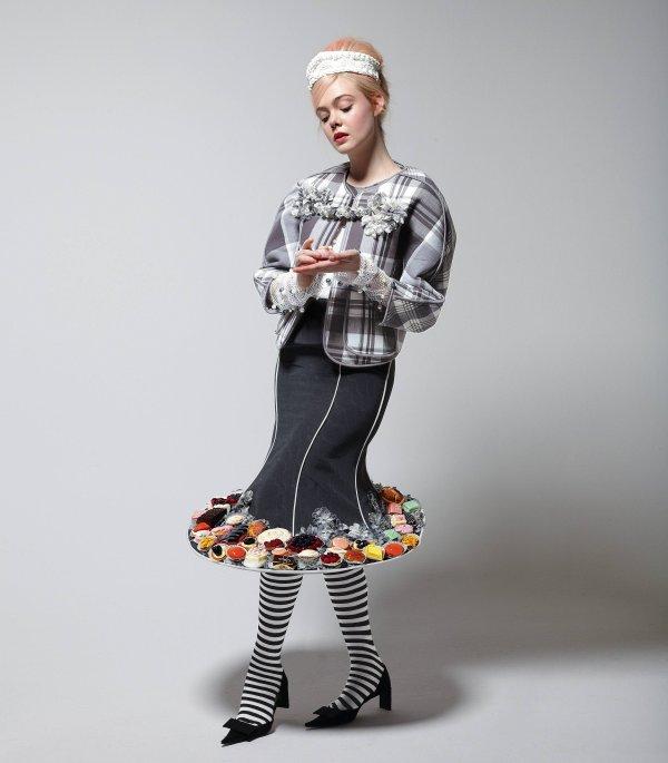 Elle Fanning pose pour le New York Times Magazine.