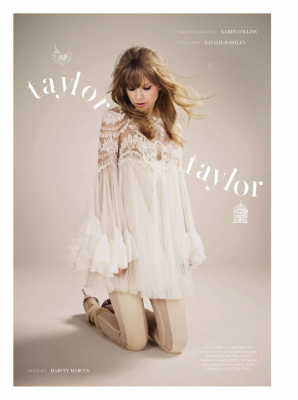 Taylor Swift pose pour InStyle.