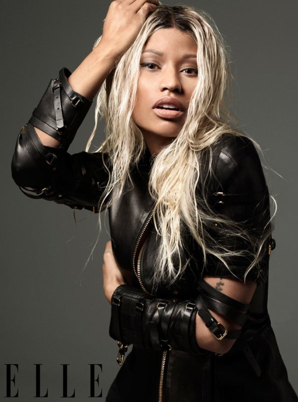 Nicki Minaj pose pour ELLE.