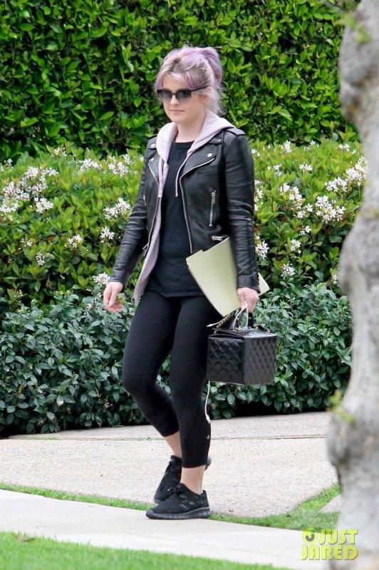 Kelly Osbourne de sortie. Beverly Hills