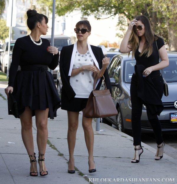 Les soeurs Kardashian de sortie.