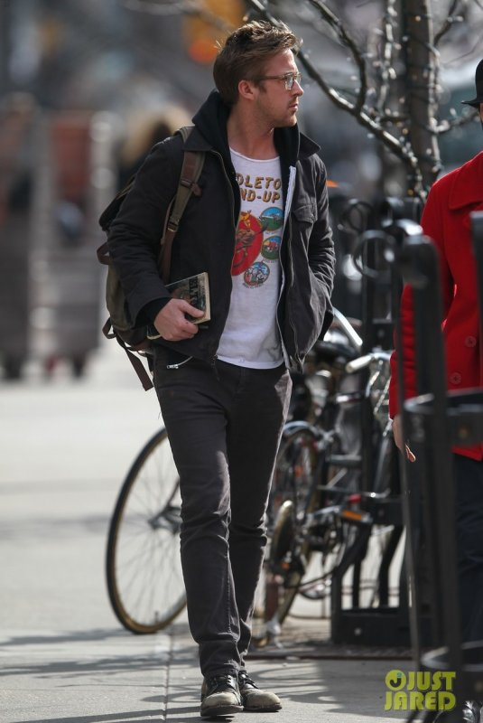 Ryan Gosling de sortie. New York