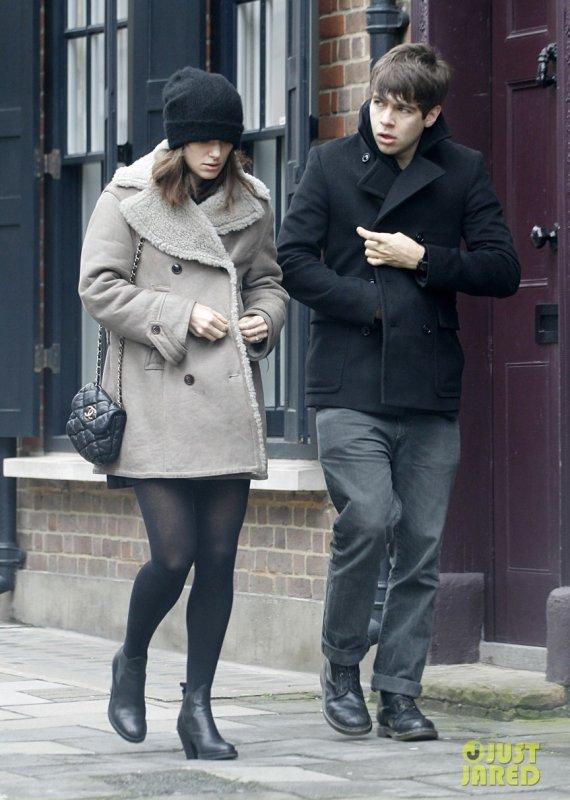 Keira Knightley de sortie. Londres