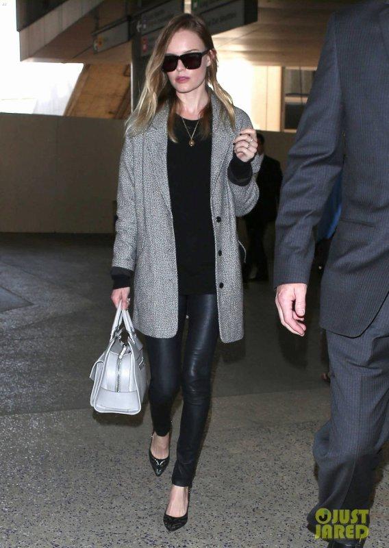 Kate Bosworth à l'aéroport LAX. Los Angeles