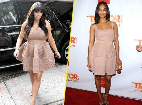 Qui porte le mieux la robe Lanvin ?
