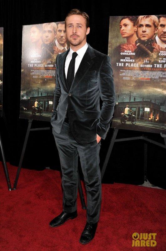 Ryan Gosling à la première d'un film. New York