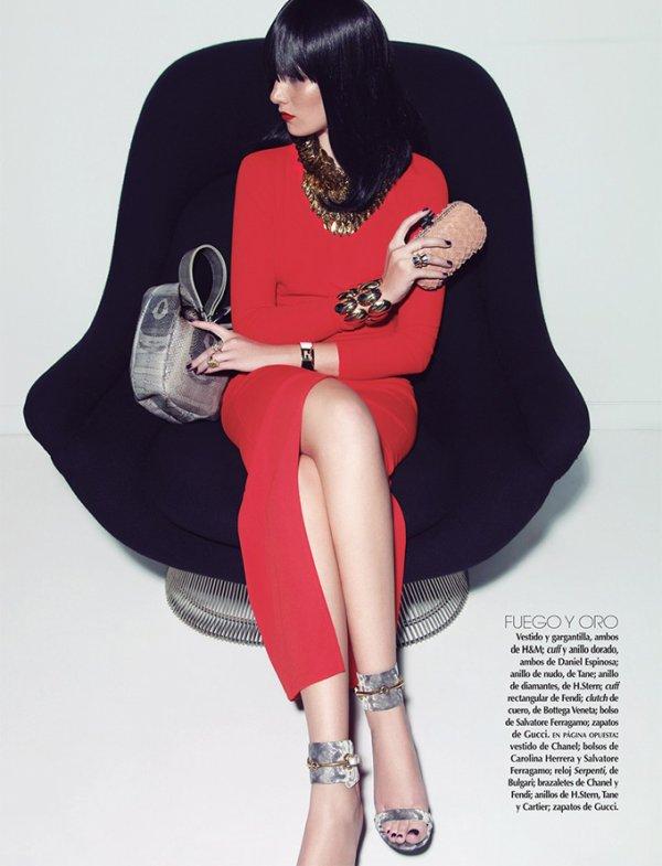 Vogue Mexico photoshoot