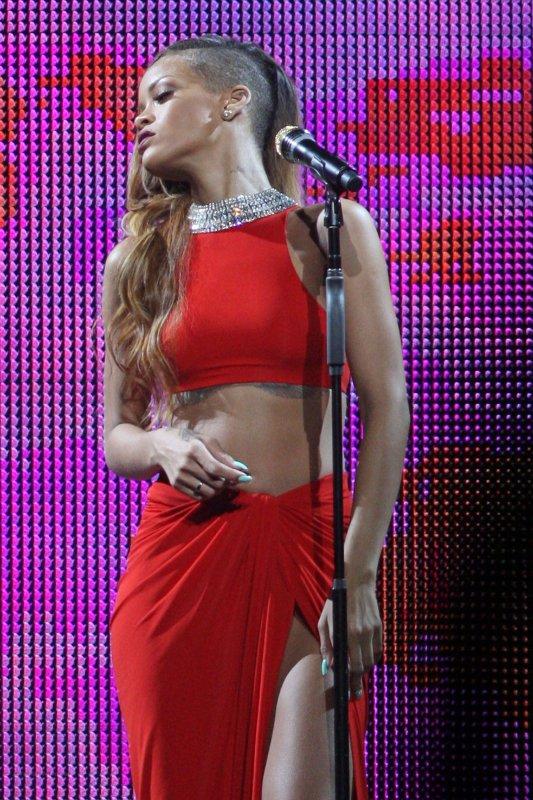 Rihanna en live. Diamonds World Tour