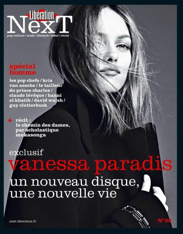 Vanessa Paradis pose pour Liberation Next.