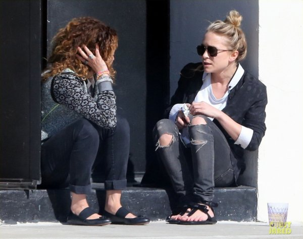 Mary Kate Olsen de sortie.