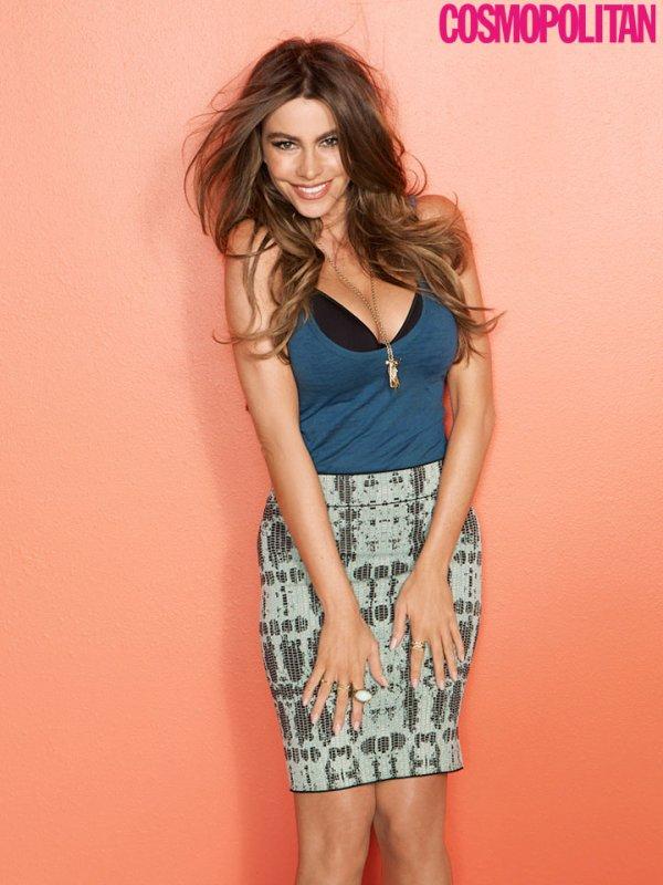 Sofia Vergara pose pour Cosmopolitan.