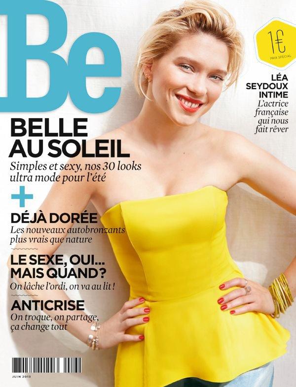 Léa Seydoux pose pour Be.