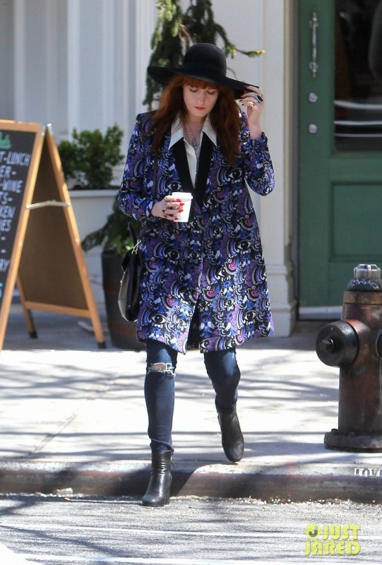 Florence Welch de sortie.