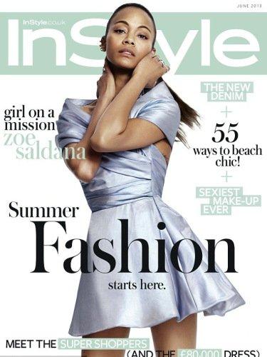 Zoe Saldana pose pour InStyle.