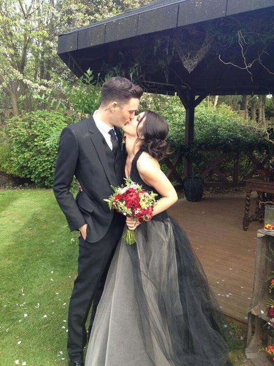 Shenae Grimes s'est mariée.