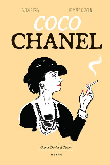 Coco Chanel, version B.D source : Vogue.fr