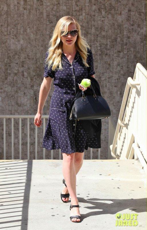 Kirsten Dunst de sortie.