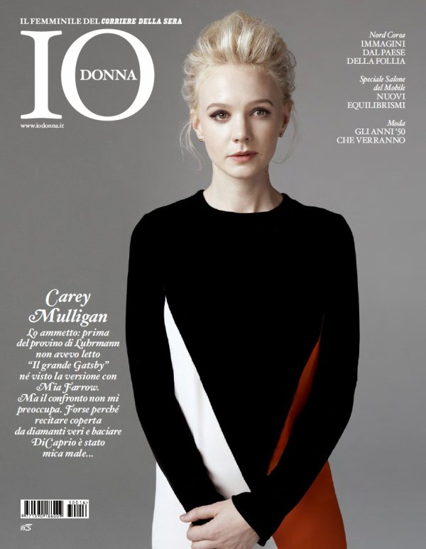 Carey Mulligan pose pour IODONNA.