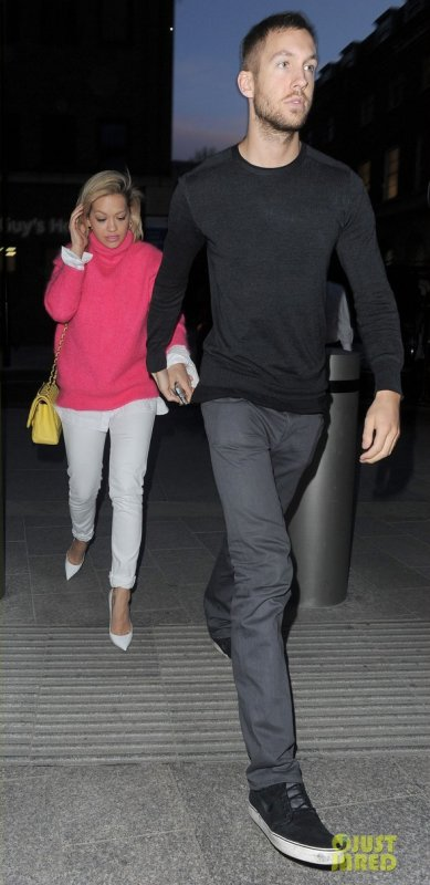 Rita Ora de sortie avec Calvin Harris. Londres
