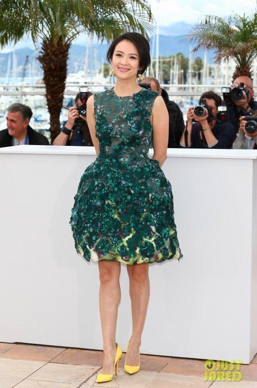 Ziyi Zhang au festival de Cannes.