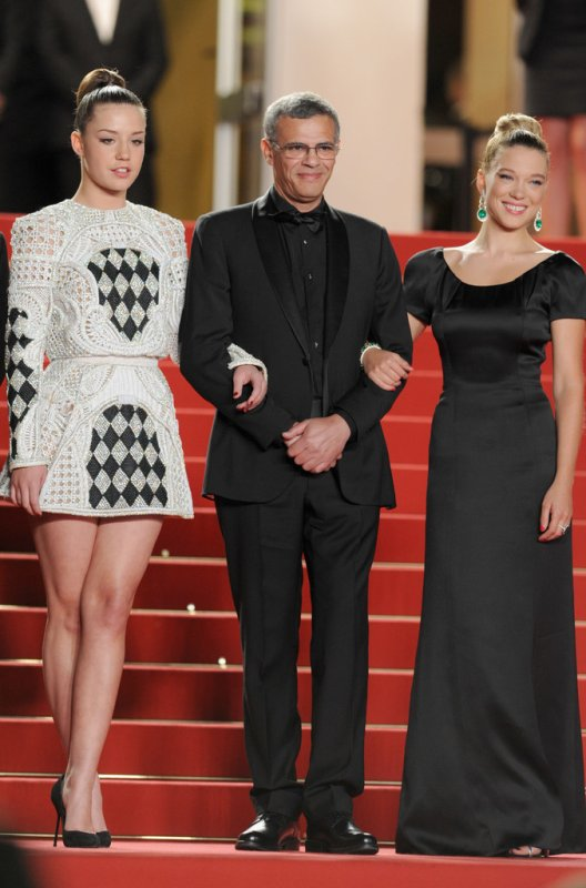 Léa Seydoux sur le tapis rouge. Cannes
