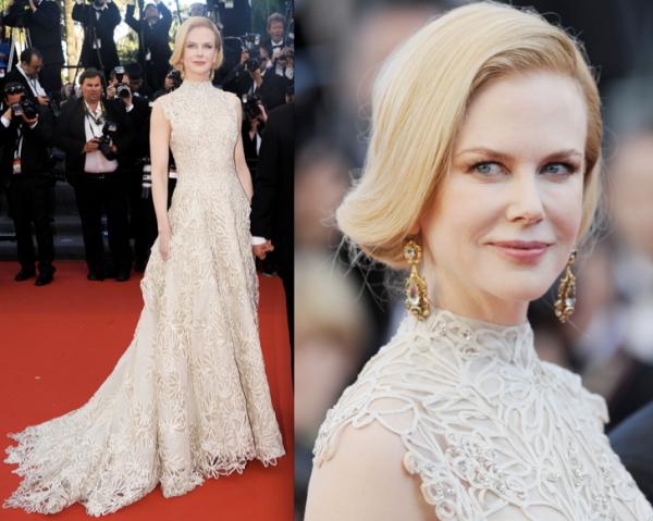 Nicole Kidman sur le tapis rouge. Cannes