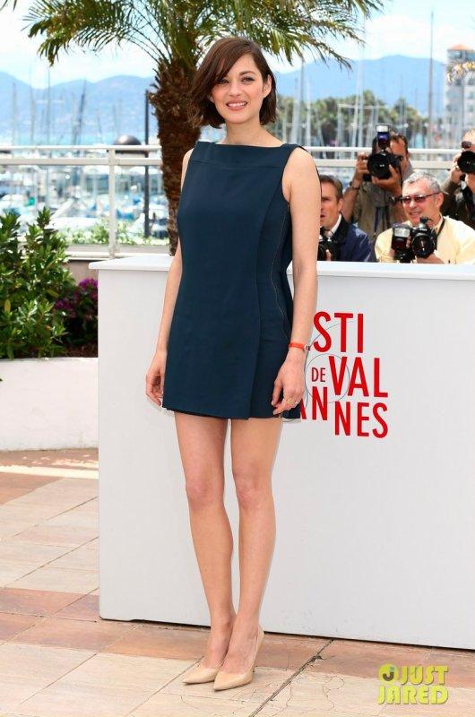 Marion Cotillard au festival de Cannes.