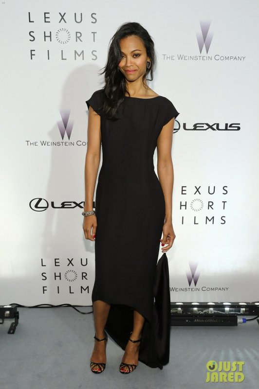 Zoe Saldana à un évènement à Cannes. Lexus Short Film Series Life Is Amazing