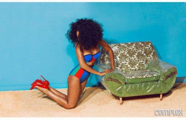 Solange Knowles pose pour Complex.