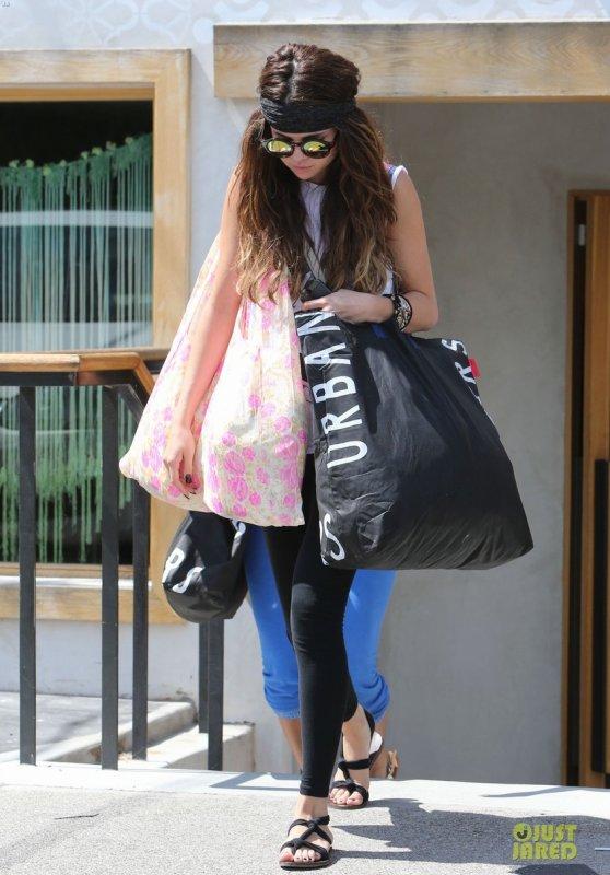 Selena Gomez de sortie.